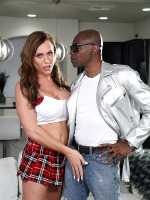 Nikki Jade: Lets be thankful for one thing. A beautiful TS with a thirst for huge black cock. Now we can always appreciate that in our lives. Today we bring you the gorgeous Nikki Jade meeting our main man Sean Michaels. Watch this ultimate interracial hardcore ass banging scene . Let's get right to it!