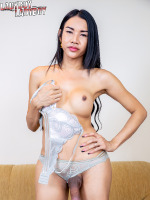Give sweet Sindi your full attention today as she is back to make you all happy again! She may look demure, but this naughty lady will never ever be shy for you..Ready for her hot cumback solo? Watch her as she spreads her legs apart giving you a mindblowing view of her as and cock as she gets playful with it!