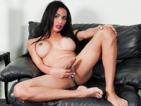 Horny Latina Yadira Cuellar returns once more, to kick off another hot TGirls.XXX week by having some naughty fun again! Yadira LOVES showing off her hot body and her juicy ass! She enjoys getting naughty...