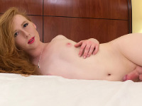 Shiri is a beautiful redheaded tgirl with an amazing all natural body, small hormone breasts with puffy nipples, a superb ass and a delicious cock! Watch this hot Grooby girl fucking herself with her butt plug and stroking her delicious cock!