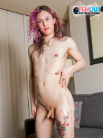 Today we are going to Canada to meet one sexy Femout newcomer! Everybody, please welcome Violet Sakura! Just discovered by Vee Soho, Violet is a sexy girl with a hot body and she can't wait to show it...