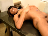 Fully naked with her cock and ass offered deliciously, Crona Valentine is too hot to handle in her